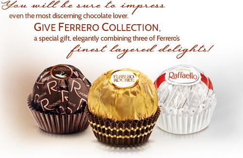 CHOCOLATE COLLECTION FERRERO