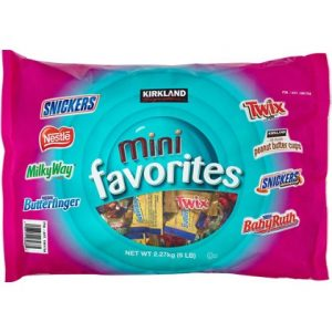 Chocolate Kirkland Mini Favorites