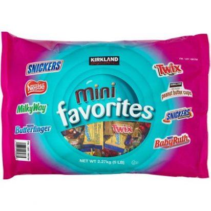 Chocolate Kirkland Mini Favorites