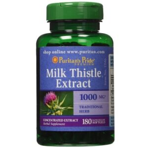 Milk Thistle Puritan Pride 1000mg 180 v