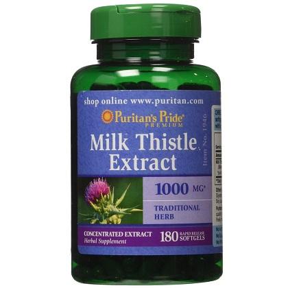 Milk Thistle Puritan Pride 1000mg 180 v