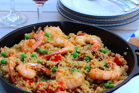 Quinoa Shrimp