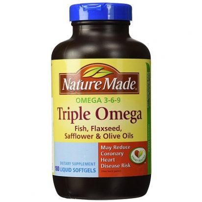 TRIPLE OMEGA 369 NATURE MADE