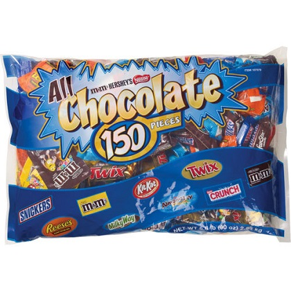 chocolate Kirkland 150 pieces