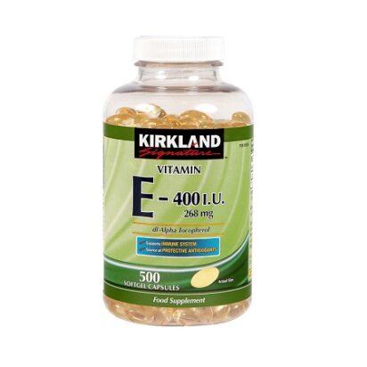 vitamin e 400iu kirkland 500v